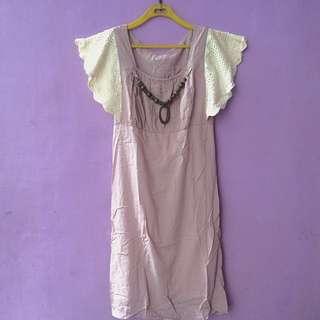 Soft Pinky Dress
