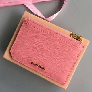 miu miu wallet/card holder