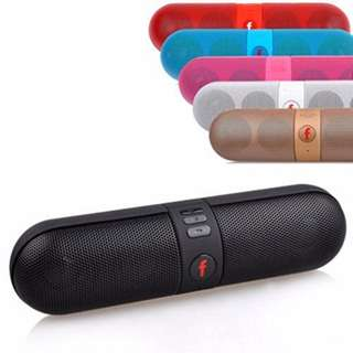 Instocks Capsule Pill Wireless Bluetooth Speakers