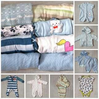 Cozy Baby Bundle Sale(0-8+ mos.)