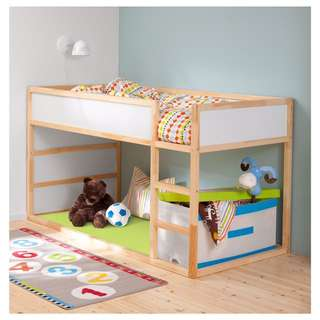 IKEA Kura double decker children bed frame