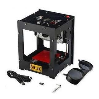 NEJE DK-BL 1500mW Desktop Laser Engraver Printer Bluetooth 4.0