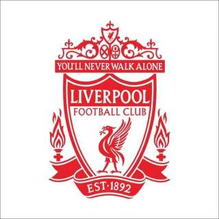 $20💥In Stock Liverpool FC team bedroom study room living room background self-adhesive wall stickers waterproof/Home Decor