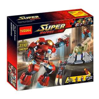 DECOOL 7110 Super Heroes The Hulk Buster