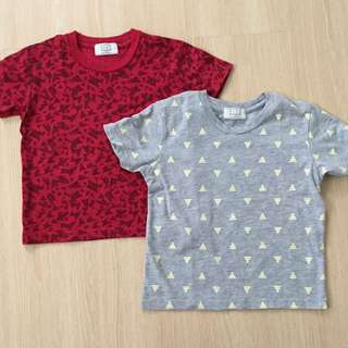Triangle Tshirt Set