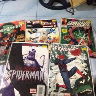 5 Comic Collection