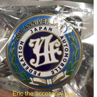 Japan Automotivce Federation Badge