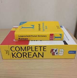Korean Language Learning Set