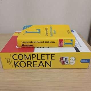 Korean Language Learning Set