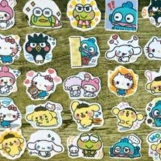 BINB 40pcs Sanrio Characters Sticker Pack