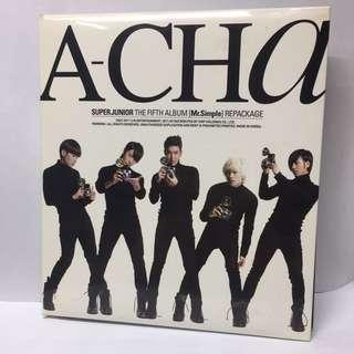 SJ Super Junior A-CHA 連postcard