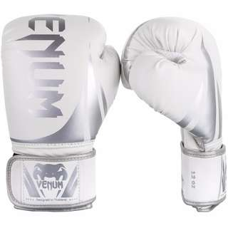 Authentic Venum Challenger 2.0 Boxing Gloves (White/Silver)