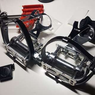 mks sylvan track w/cages and straps