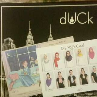 KL Duck Scarves