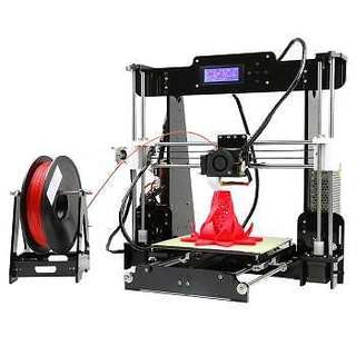 A8 Large Desktop 3D Printer Kit High Resolution with LCD Display