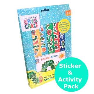 Very Hungry Caterpillar Sticker and Activity Set