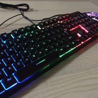 DSFY K-13 Backlight Keyboard mouse combo 都市方圓背光鍵盤套裝