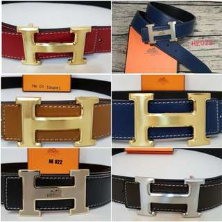 HERMES Unisex Belt With Box (FREE POSTAGE)