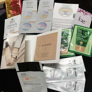 Primer / BB Cream Samples