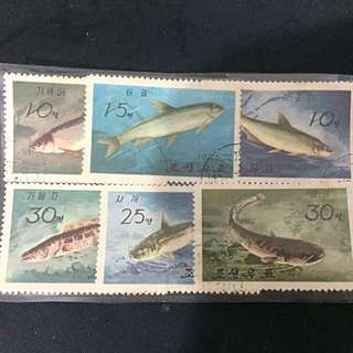 1975 North Korean Stamps