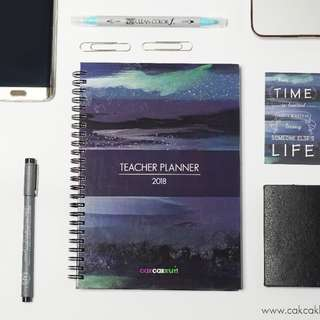 2018 Teacher Planner - Midnight Blue