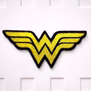 Wonder Woman Logo Iron On Patch