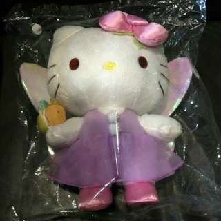 Limited Edition Changi Airport Hello Kitty Firefly Plush with genuine Sanrio backpack