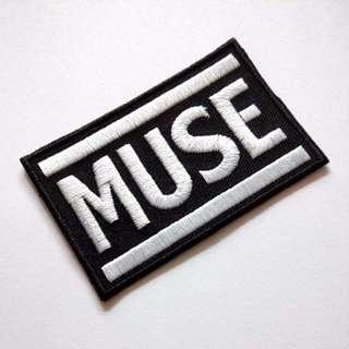 Muse Rock Band Music Iron On Patch