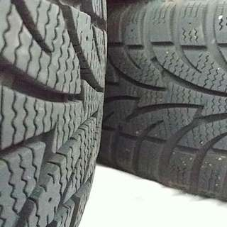 Winter tires on rims 205 55 R16