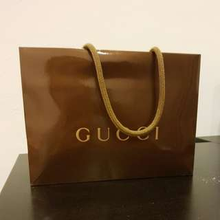 Gucci Subclasses paperbag
