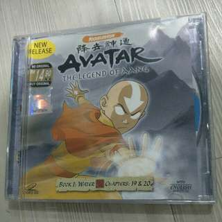 VCD Avatar - The legend of Aang