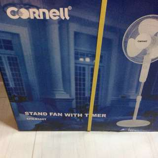 """CORNELL 16"""" STAND FAN WITH TIMER NEW"""