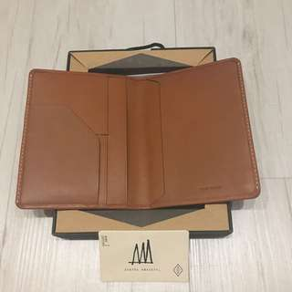 Genuine Leather Passport Cover - Brand New