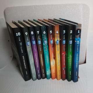 39 Clues books 1-10