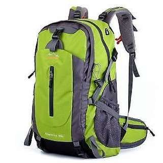 45L Travel Daypack Outdoor Sports Rucksack Backpack, Green