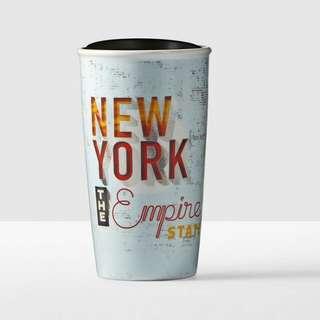 Starbucks Tumbler State Double Wall Traveler New York, 12 fl oz, 355ml