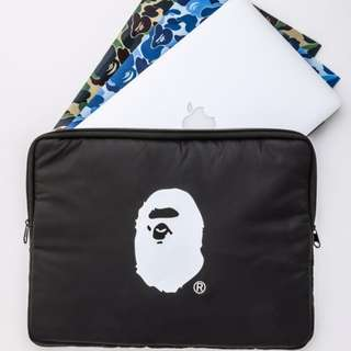 Bape Black Laptop Case Bag