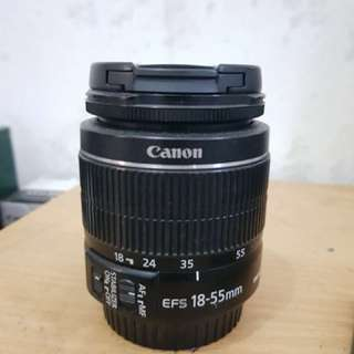 For sale lens 18-55 kit canon