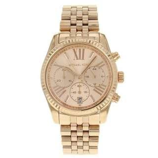 Michael Kors MK5569 Rose Gold Lexington Chronograph Ladies Watch