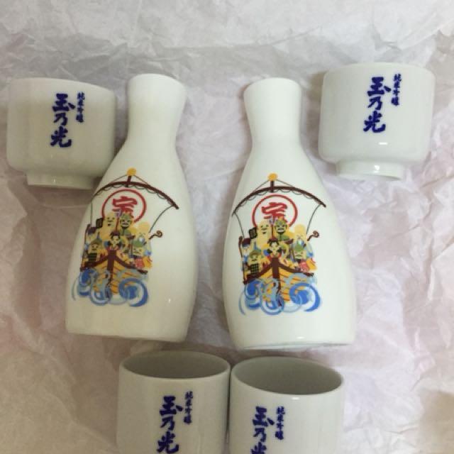 日本清酒🍶(2*樽,4*杯)