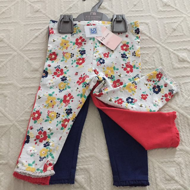 3 leggings- Mothercare - NEVER USED