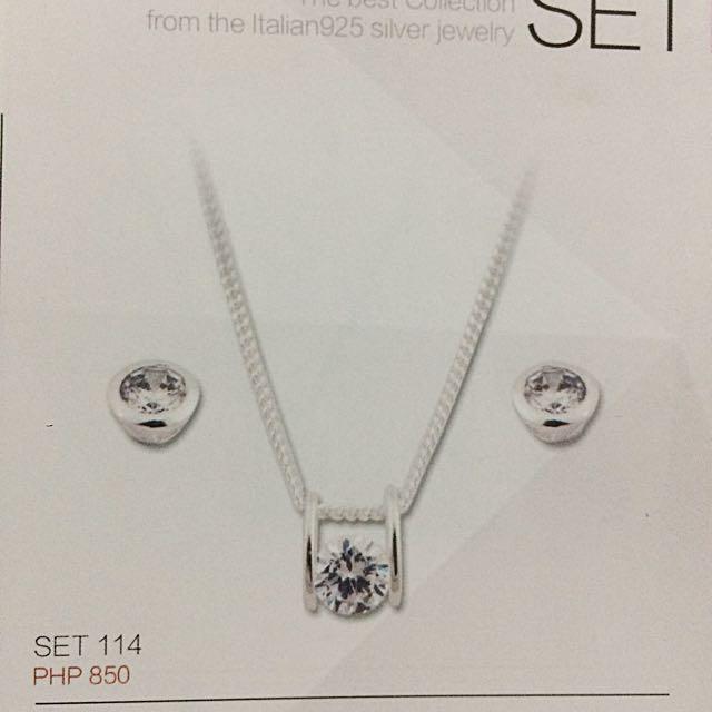 925 Italy Silver Set