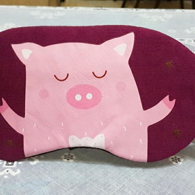 豬圖樣眼罩
