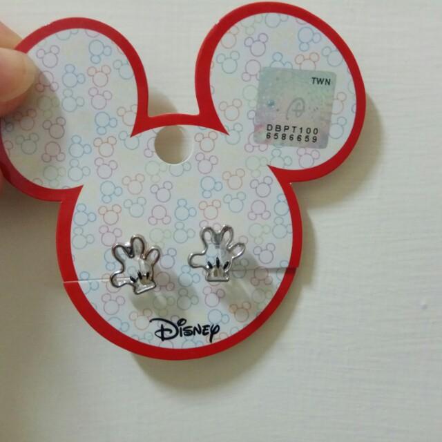 迪士尼 米奇耳夾耳環
