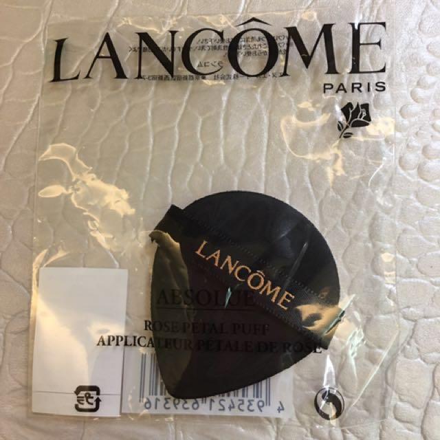#手滑買太多 Lancome蘭蔻 絕對完美玫瑰氣墊粉撲