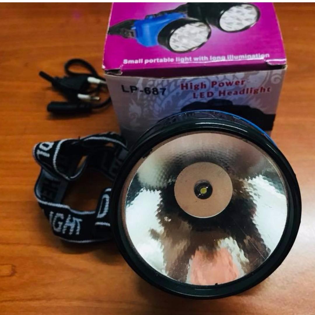 🔥 Rechargeable High Power LED Headlamp Headlight Long Lasting