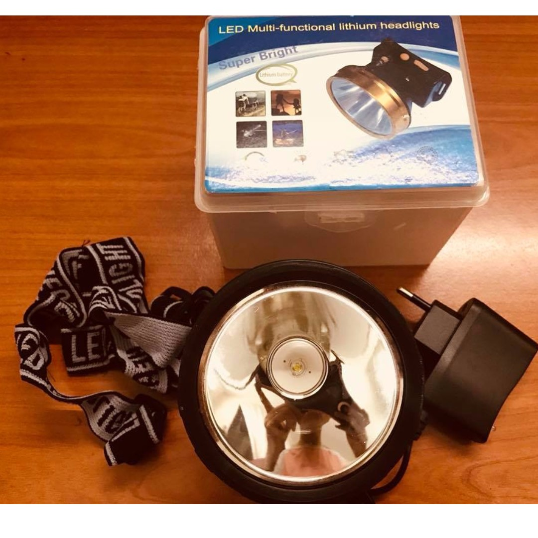 🔥 Rechargeable LED High Power Headlamp Headlight Outdoor 3w Long Lasting