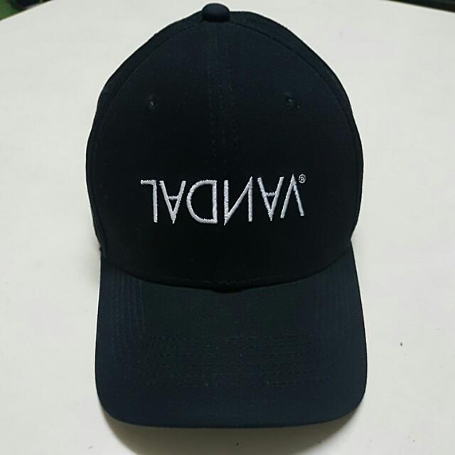 全新 VANDAL LOGO 老帽 vandal 卡車 帽 彎帽 後扣 你他媽給我笑 OG og