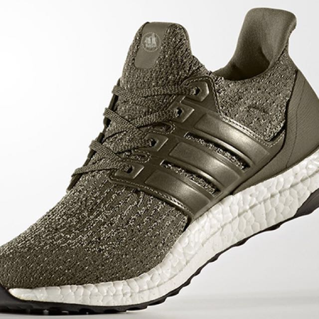 1d72893d64866 Adidas Ultra Boost 3.0 Trace Olive S82018