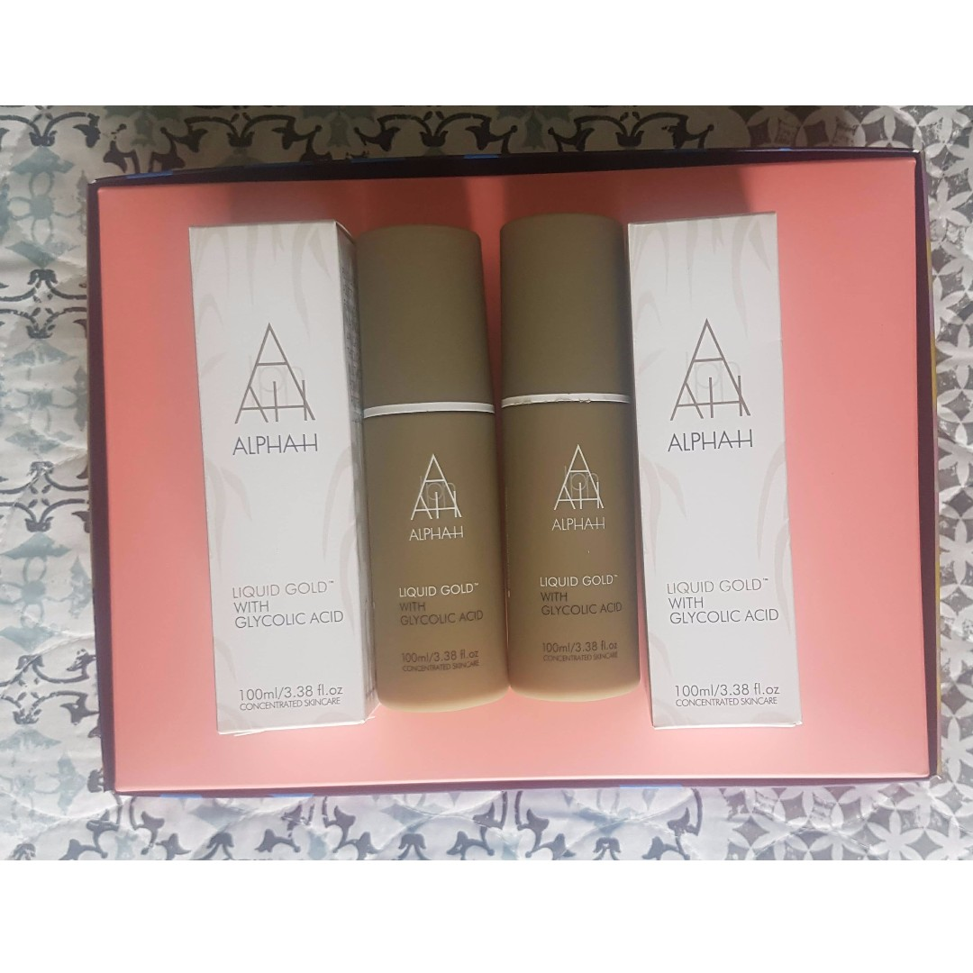 Alpha H- Liquid Gold- 100mL ($30each)
